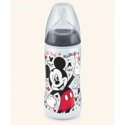 biberon-mickey-mouse-300ml-nuk-con-tettarella-in-silicone-0-6-mesi-taglia-m