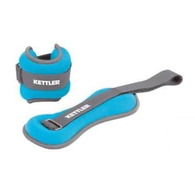 cavigliera-pesata-kettler-per-fitness-e-riabilitazione-2-x-1-kg