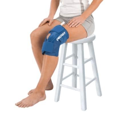 cryo-cuff-aircast-bendaggio-ginocchio-crioterapia-domiciliare