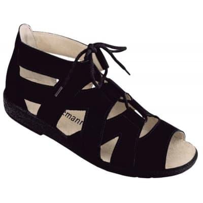 scarpa-da-donna-nera-in-nabuk-berkemann-ravenna