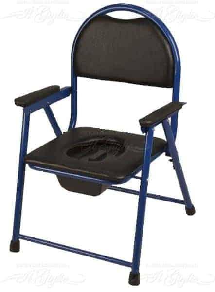 Sedia Per Wc Imbottita E Pieghevole In Acciaio Termigea Ba49 Sanitaria Il Giglio